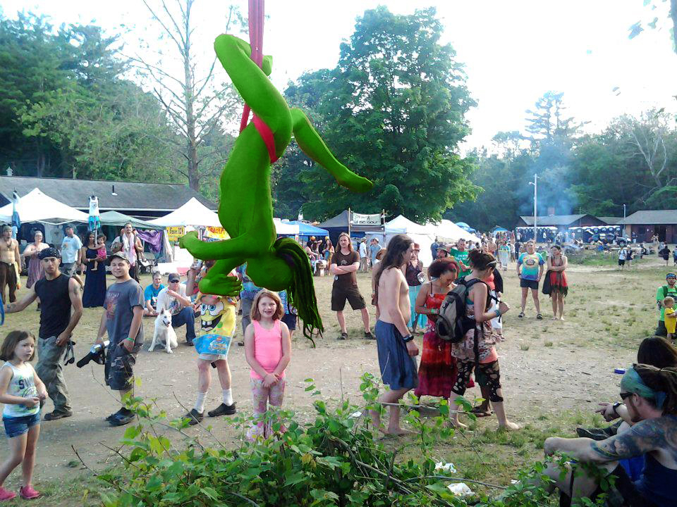 Massachusetts Saint Patrick's Day St. Paddy's Day Party Aerial Hoop Performer Connecticut Aerial Lyra Artist Rhode Island Aerialist New Hampshire Aerial Hammock Dancer Circus Aerial Sling