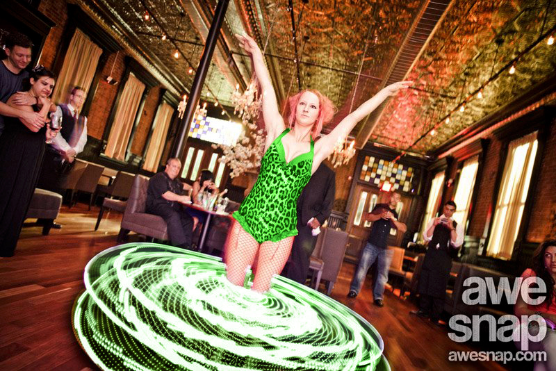 Massachusetts Saint Patrick's Day St. Paddy's Day Party LED Hula Hoop Performer Connecticut LED Poi Dancer Rhode Island LED Light Show New Hampshire LED Smart Hoop Blacklight LED Poi Spinner Party
