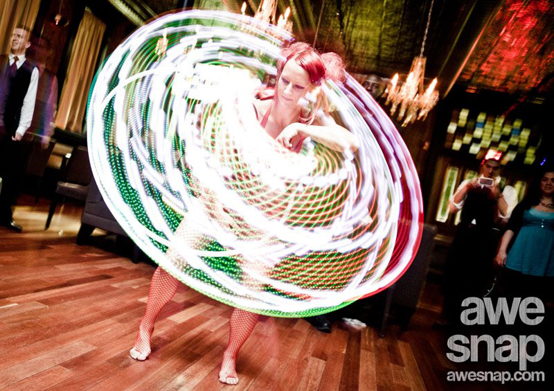 Massachusetts Wedding Reception Party LED Hula Hoop Performer Connecticut LED Poi Dancer Rhode Island LED Light Show New Hampshire LED Smart Hoop Blacklight LED Poi Spinner Party