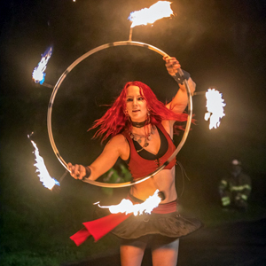 Massachusetts Fire Hula Hoop Circus Performer Cirque LED Light Show Hoops Hooping Hooper Fire Dancer Fire Performer RI CT