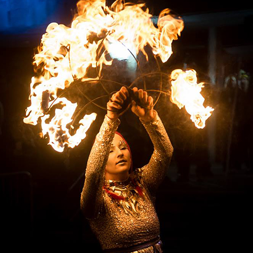 Fire Fans Performer Fire Dancer Massachusetts Connecticut Rhode Island Fire Show Entertainer FireGypsy Fire Gypsy Fire and Ice Winterfest