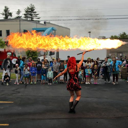 Fire Flamethrower Dragon Sword Lycopodium Lyco Fire Show Fire Dancer Fire Performer Massachusetts Connecticut Rhode Island FireGypsy