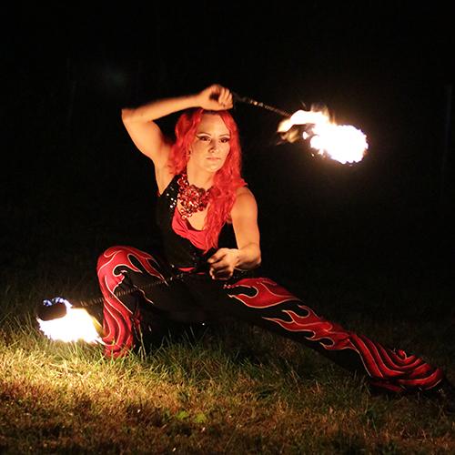 Fire Poi Performer Fire Dancer Kids Fire Show FireGypsy Fire Gypsy Massachusetts Rhode Island Connecticut Fire Spinner Sasha