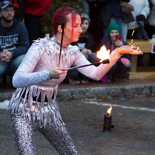 Massachusetts Fire Eater Fire Eating Performer Fire Show Fire Dancer Rhode Island Connecticut Fire and Ice Event Winterfest Kids Children Friendly Entertainment