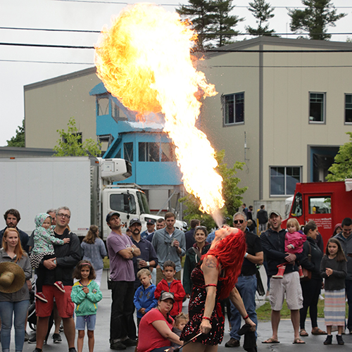Massachusetts Fire Breather Connecticut Fire Dancer Rhode Island Fire Performer Allagash Street Fair Entertainment Book Hire Fire Gypsy FireGypsy