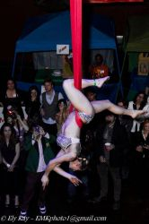 Aerial Hammock Sling Performer Circus Aerialist Connecticut