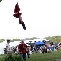Aerial Lyra Hoop Performer Circus Aerialist Festival Massachusetts 1