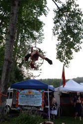 Aerial Lyra Hoop Performer Circus Aerialist Festival Rhode Island 1