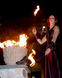 Fire Eater Medieval Wedding Massachusetts 1