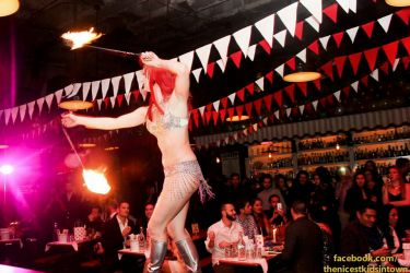 Fire Poi Dancer Performer NYE MA CT RI NH VT NY ME Fire Show Performance Spinner Circus