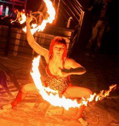 Framingham MA Fire Fans Dancer Fire Performer