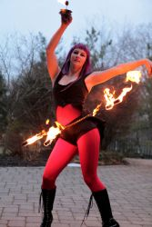Halloween Fire Belly Dance Massachusetts 1