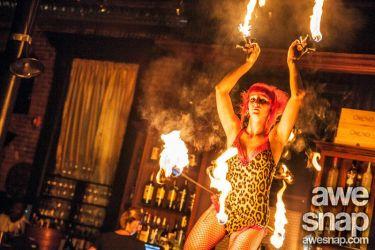 Hip Belt Palm Torches Fire Belly Dance Fire Performer Massachusetts