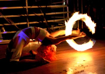 Leeloo Dallas Multipass Halloween Cosplay Spooky Show Fire Poi Dancer Fire Performer Massachusetts Fire Gypsy