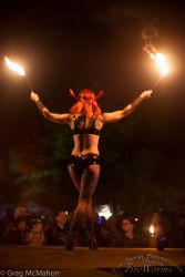 Masquerade Fire Eater Festival 1