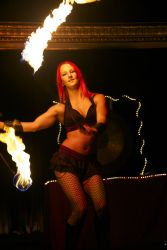 Massachusetts Boston Fire Poi Dancer Fire Performer Stage Show Fire Gypsy 1