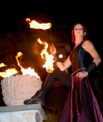 Medieval Wedding Fire Eater 1