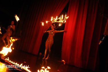 New Year's Eve Fire Performance Fire Collar Custom Fire Dancer FireGypsy