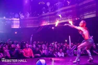 Nightclub Fire Performer Fire Eater