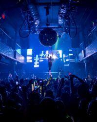 Rhode Island Nightclub Aerial Hammock Sling Performer Circus Aerialist Club Bar