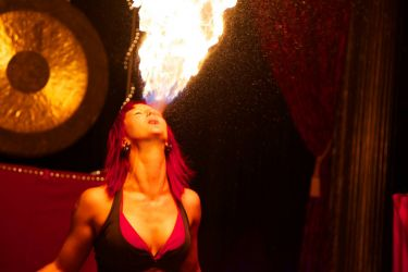 Stage Fire Breather 1