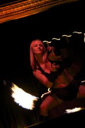 Stage Show Fire Poi Dancer Fire Performer Greenfield MA 1