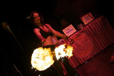Stage Show Fire Poi Dancer Fire Performer Hartford CT Fire Gypsy 1