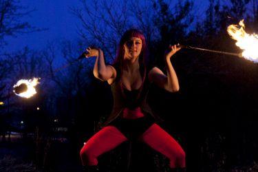 Worcester Fire Dancer Fire Gypsy 1