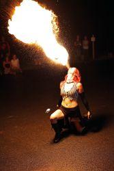 Circus Fire Breather Fire Spitter Massachusetts Event Entertainment