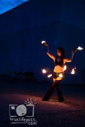 Fire Belly Dancer Hip Belt Palm Torches Performer Entertainment Circus Massachusetts Connecticut Rhode Island