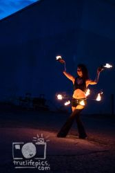 Fire Belly Dancer Hip Belt Palm Torches Performer Entertainment Circus Massachusetts Connecticut Rhode Island