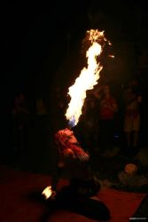 Fire Breather Skydive New England Tiki Bar