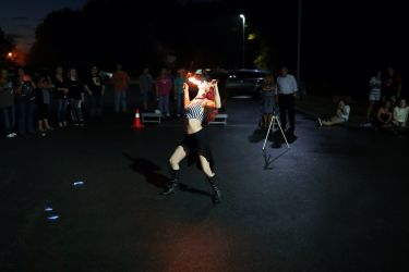 Fire Eater Fire Show Entertainment Massachusetts