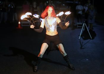 Fire Fan Dancer Performer Massachusetts Event Entertainment