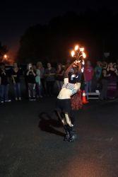 Fire Fan Performer Massachusetts Fire Dancer