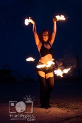 Fire Performer Belly Dancer Hip Belt Palm Torches Dancer Circus Massachusetts