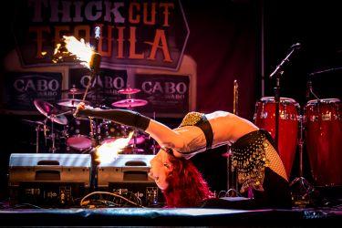 Fire Poi Dancer Massachusetts Backbend Buzzsaw Performer