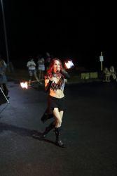 Fire Poi Performer Circus Artist Massachusetts