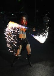 Fire Sparkles Ropes Snakes Performer Sklitter Pyrotechnic Metal Flakes Massachusetts