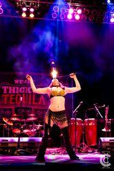 Fire Spinner Boston Massachusetts Circus Arts