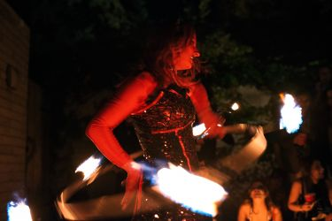 Halloween Entertainment Party Event Fire Dancer Performer Show Connecticut
