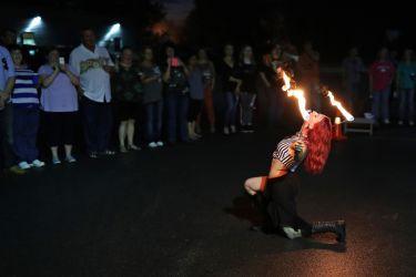 Massachusetts Fire Show Entertainment Fire Eater FireGypsy
