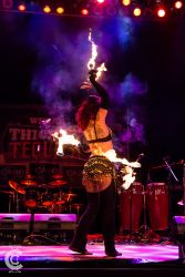 Rhode Island Fire Belly Dance Hip Belt Palm Torches Performer Dancer