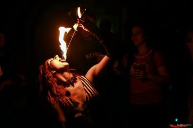 Skydive New England Fire Eater Entertainer Circus Performer