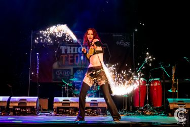 Sparkle Fire Ropes Sklitter Dragondust Pyro