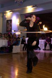 Fire Hula Hoop Dancer Fire Performer Indian Massachusetts