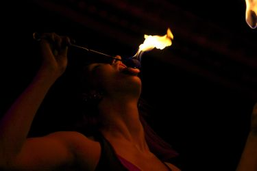 New Bedford MA Fire Eater