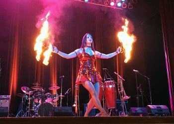 New England Tequila and Rum Festival Fire Dancer Twin River Casino Rhode Island Fire Performer 1