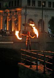 Providence Waterfire Fire Fans Dancer Fire Performer Rhode Island FireGypsy